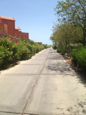 Park Inn by Radisson Sharm El Sheikh Resort: camminata verso il mare