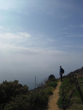 Aria di Mare : Part of the hike recommended by Maurizio