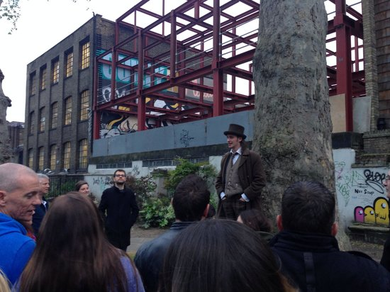The Jack the Ripper Tour With Ripper Vision: Whitechapel