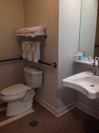 Hampton Inn Clarks Summit: Obviously wheelchair accessible!