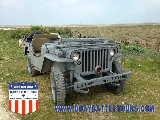 D-Day Battle Tours : Jeep Tour