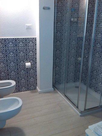 Albergo Rivamare: il bagno