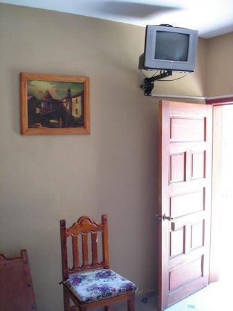 Hostal Villa San Francisco: Notre chambre en mars 2011.