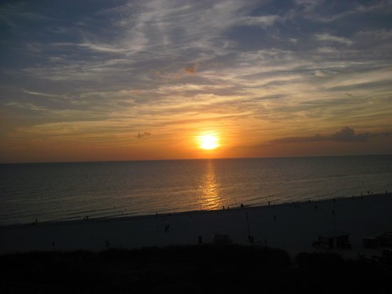 Hilton Marco Island Beach Resort--CLOSED FOR RENOVATIONS; REOPENING DEC. 1, 2017: Beautiful Sunset from Room