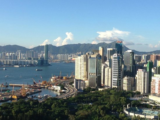 Regal Hongkong Hotel : 部屋からの眺め