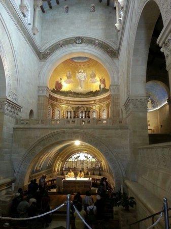 Mount Tabor: Church interior
