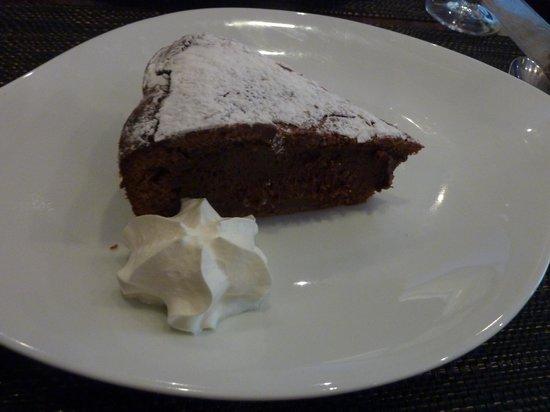 Restaurant Le Flore: Torte du Jour: Chocolat