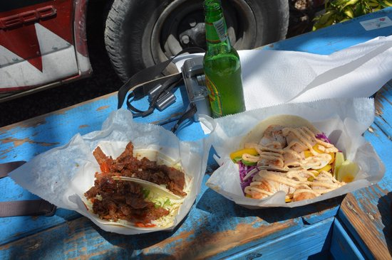 Garbo's Grill: Korean BBQ and fish tacos
