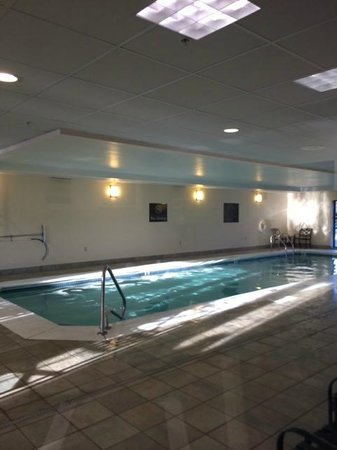 Hampton Inn Boston-Norwood: Piscina