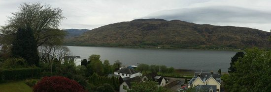 Crolinnhe: View of Loch Linnhe from the Linnhe Suite.