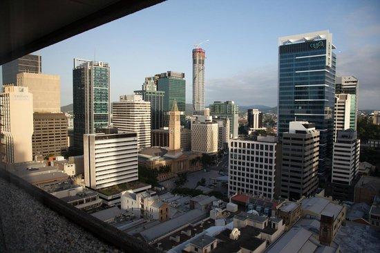Hilton Brisbane: City view