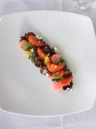 Harvest: Tomato with Watermelon Salad (ENTREE)
