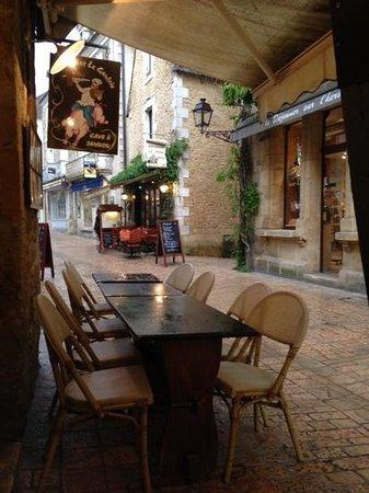 La Lanterne : Chez Le Gaulois restaurant, Sarlat.
