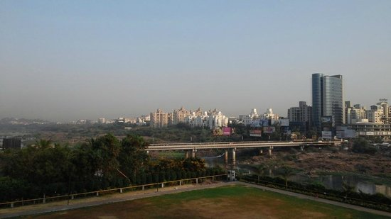The Westin Pune Koregaon Park: View from restaurant