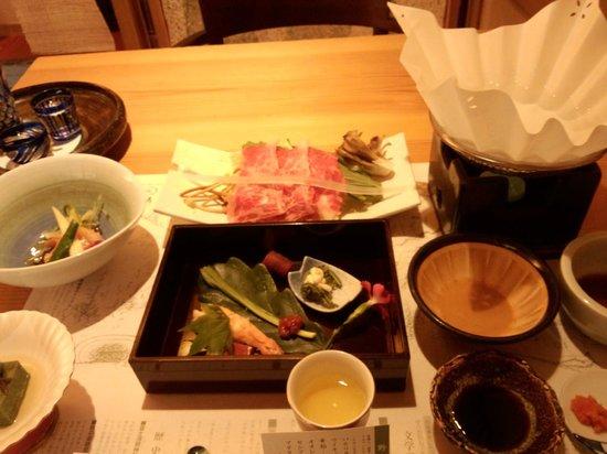 Ryokan Tanigawa: 夕食です。