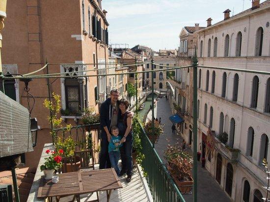Residenza de l'Osmarin: On the roof terrace