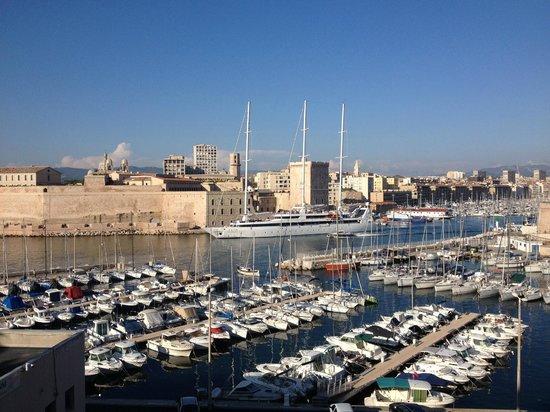 Sofitel Marseille Vieux-Port: Marseille Vieux-Port - from our balcony