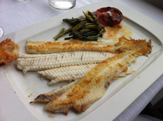 Restaurante Barceloneta: Filet of Sole Scrumptious!