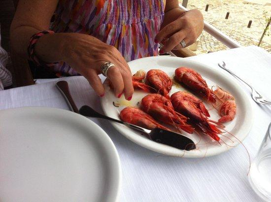 Restaurante Barceloneta: Prawns