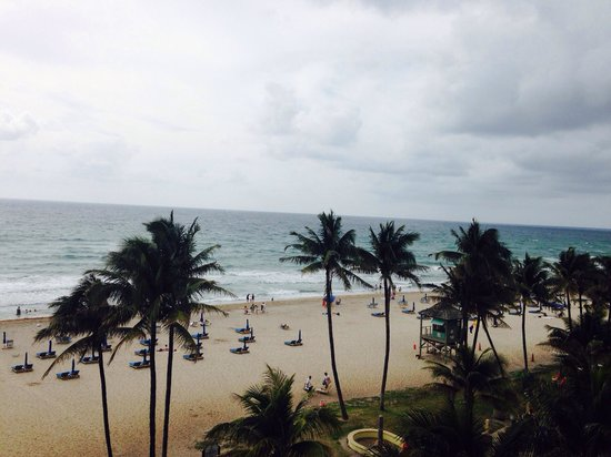 Wyndham Deerfield Beach Resort: View from our room 501