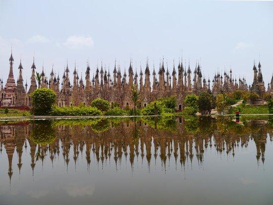 Kakku Pagodas : 写真のマジックです。