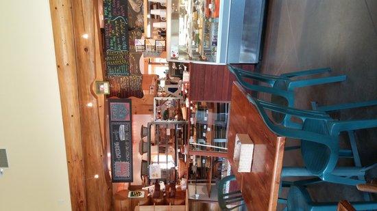 Flour Meadow Bakery & Cafe: interior counter