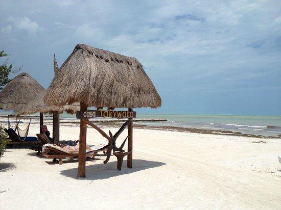 Der Strand bei Casa Takywara