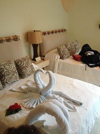 Hotel Oka'an : Notre chambre