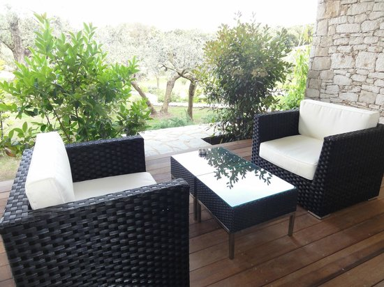 Nature & Design: Terrasse privée chambre N°5