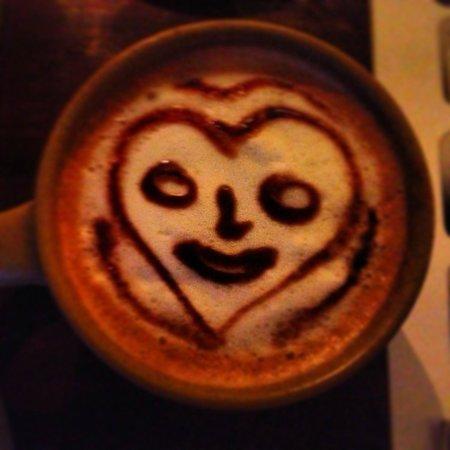Places Restaurant & Bar: cappuccino