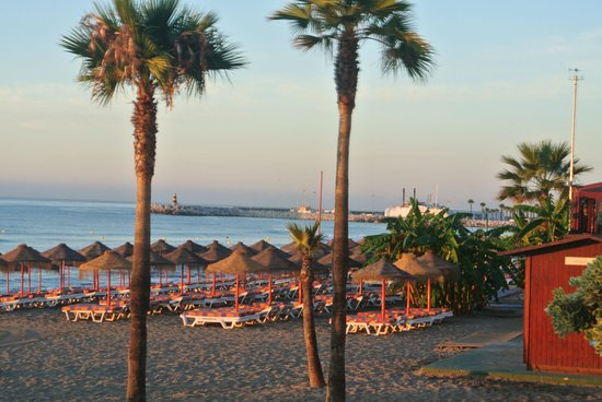 La Barracuda Hotel : plage devant l'hôtel
