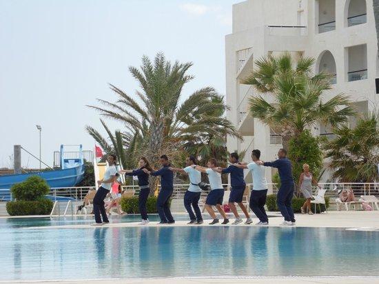 Vincci Nozha Beach Resort: entertainment staff