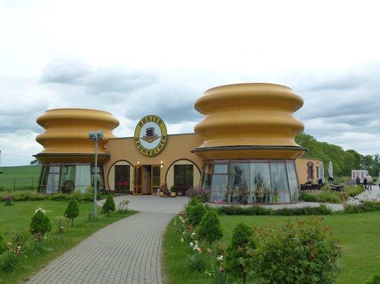 Baumkuchenhaus: Außenansicht vorn