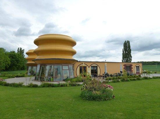 Baumkuchenhaus: Außenansicht seitlich