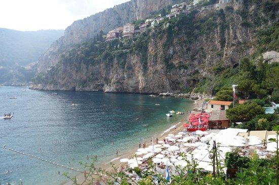 Cap d'Ail, France: beautiful plage mala