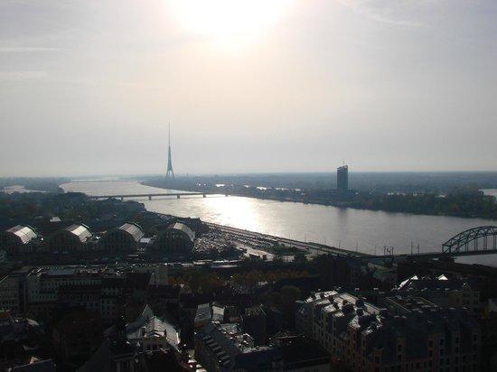 View of Riga from St Peter's Church Tower: Cмотровые площадки церкви Святого Петра
