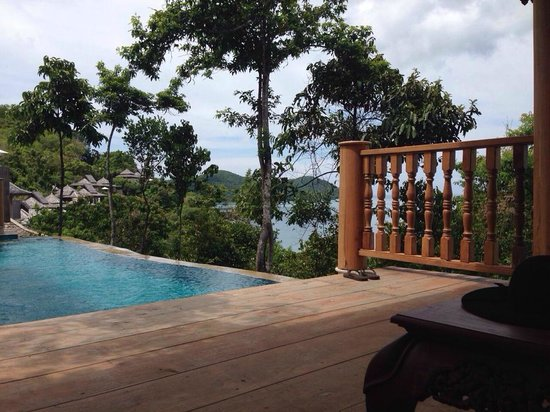 Santhiya Koh Yao Yai Resort & Spa: View From Room