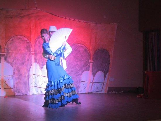 Protur Roquetas Hotel & Spa: Flamenco avond!