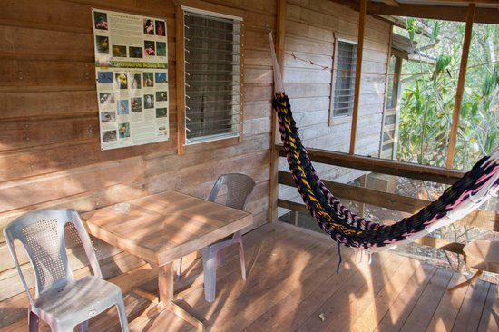 Moonracer Farm Lodging & Tours: Terrasse
