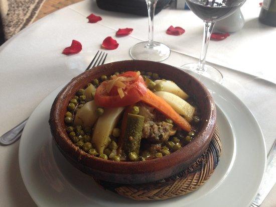 Restaurant Riad Monceau : Le tajine
