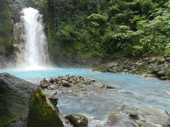 Cascata no Rio Celeste
