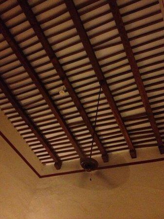 Hacienda Santa Rosa, A Luxury Collection Hotel: Magnifique plafond à au moins 5 mètres de hauteur