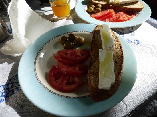 Lefka Hotel & Apartments : Petit déjeuner
