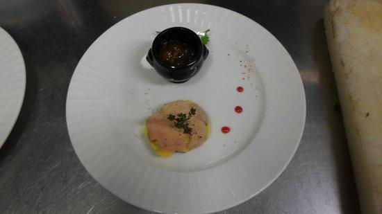 Restaurant Alexandra : foie gras maison