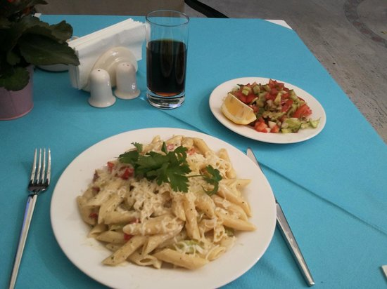 Dogan Hotel: Lunch Penne...
