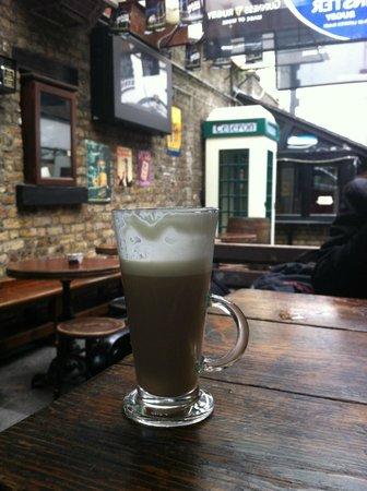 The Brazen Head: bailey's coffee
