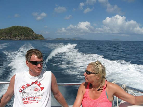 Born to Rhumb Charters : Dave and Cathy