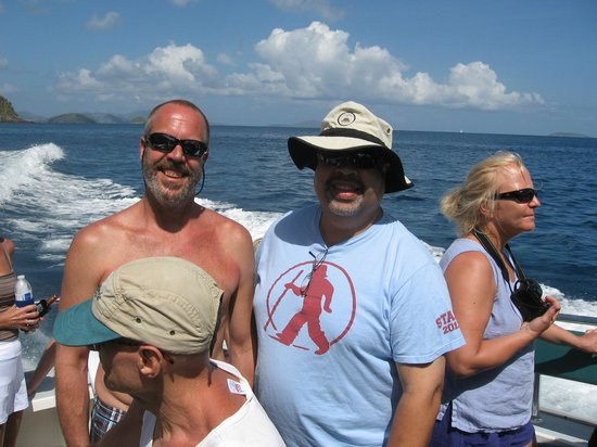 Born to Rhumb Charters : Eric and KB