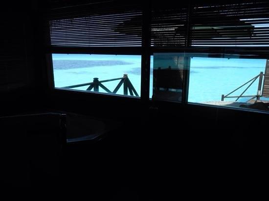 Coco Palm Dhuni Kolhu : View from bathroom at Lagoon Villa 97