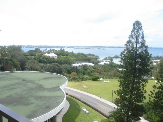 Fairmont Southampton: View from our room